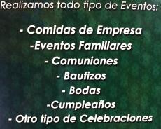 TODO TIPO DE EVENTOS
